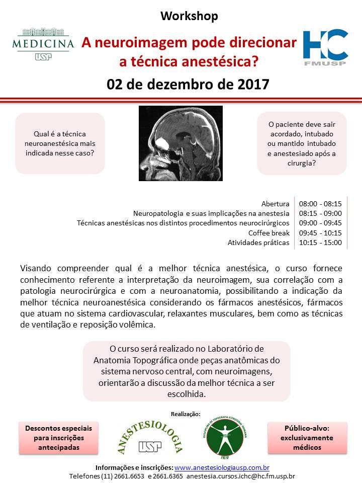 02.12.17-A neuroimagem pode direcionar a técnica anestésica