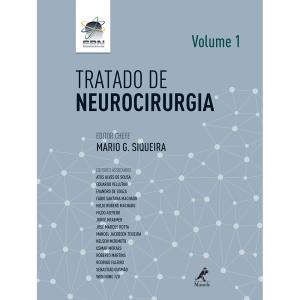 Capa do livro Tratado de Neurocirurgia Volume 1